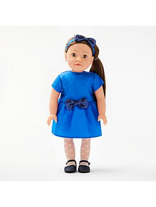 John Lewis & Partners Chloe Collector's Doll, Brunette