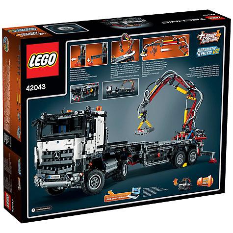 buy lego technic mercedes benz arocs 3245 john lewis. Black Bedroom Furniture Sets. Home Design Ideas