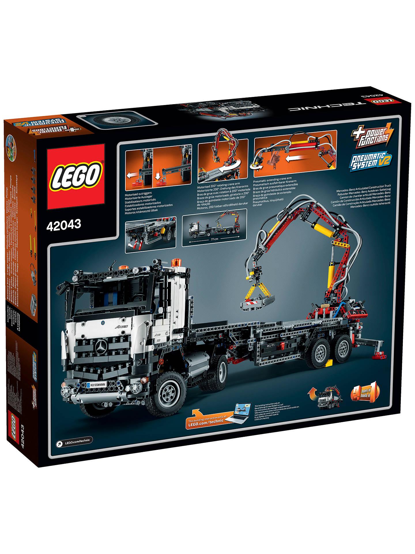 Lego Technic Mercedes Benz Arocs 3245 At John Lewis Partners
