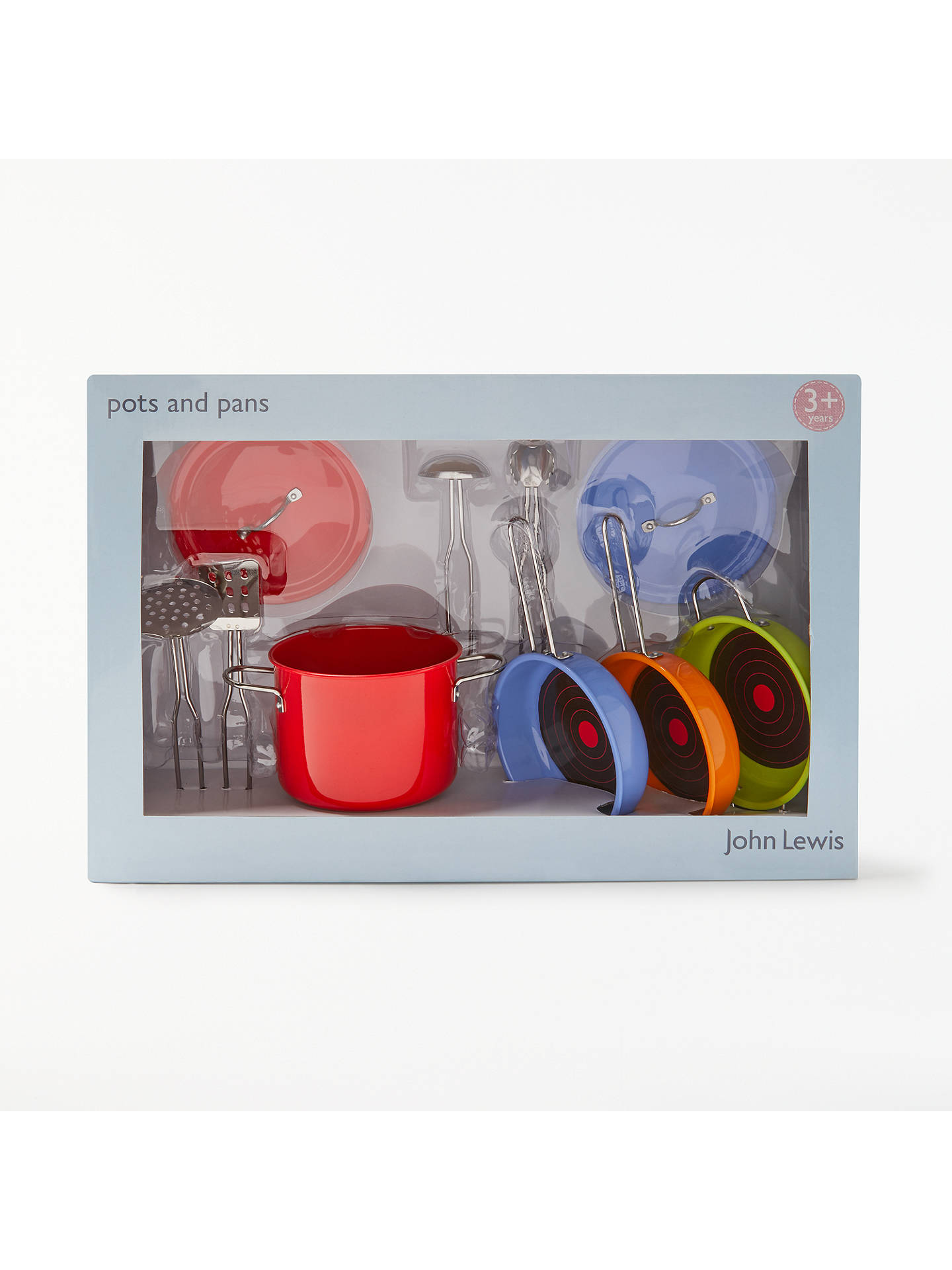 BuyJohn Lewis Toy Pots And Pans Set Online at johnlewis.com