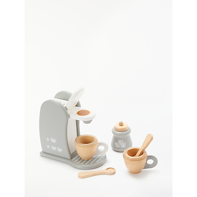 John Lewis & Partners Wooden Coffee Machine