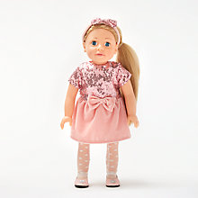 Buy John Lewis Sophie Collector's Doll, Blonde Online at johnlewis.com