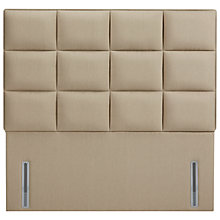 Buy John Lewis The Ultimate Collection Gloucester Headboard, Pebble Canvas, King Size Online at johnlewis.com