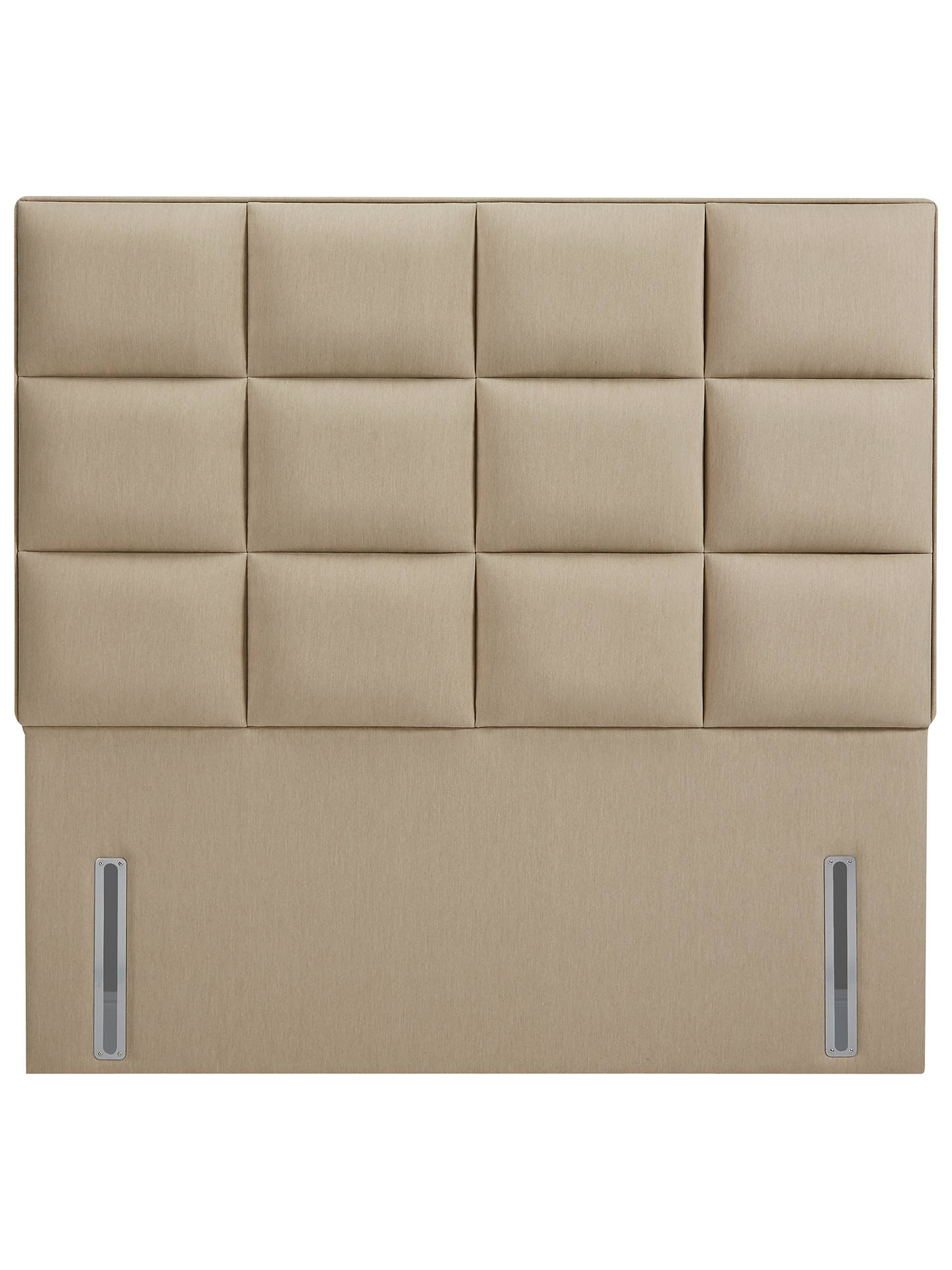 Buy John Lewis & Partners The Ultimate Collection Gloucester Headboard, Pebble Canvas, King Size Online at johnlewis.com