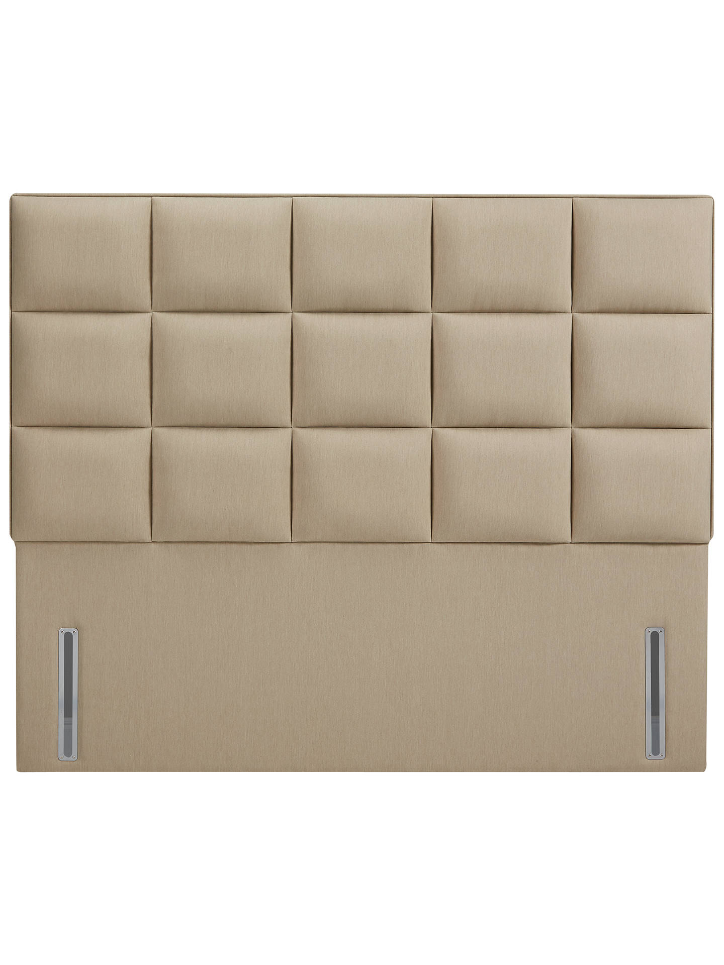 BuyJohn Lewis & Partners The Ultimate Collection Gloucester Headboard, Pebble Canvas, Super King Size Online at johnlewis.com
