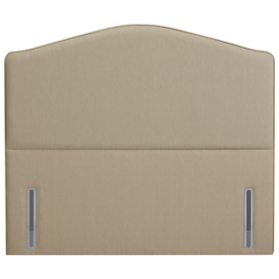 John Lewis The Ultimate Collection Richmond Headboard, Pebble Canvas, King Size
