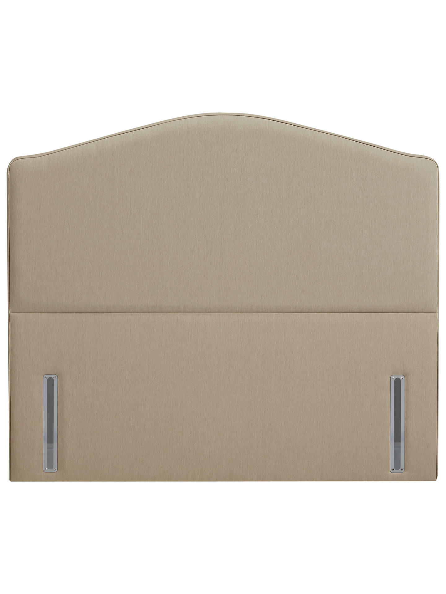 Buy John Lewis & Partners The Ultimate Collection Richmond Headboard, Pebble Canvas, King Size Online at johnlewis.com