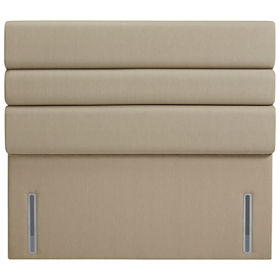 John Lewis The Ultimate Collection Lancaster Headboard, Pebble Canvas, King Size