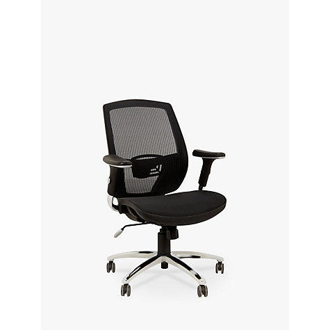 Buy John Lewis Murray Ergonomic Office Chair Black John Lewis