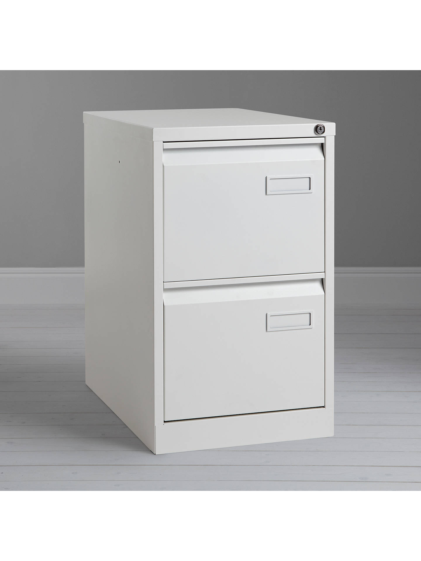 BuyHouse by John Lewis Brook A4 Filing Cabinet, White Online at johnlewis.com