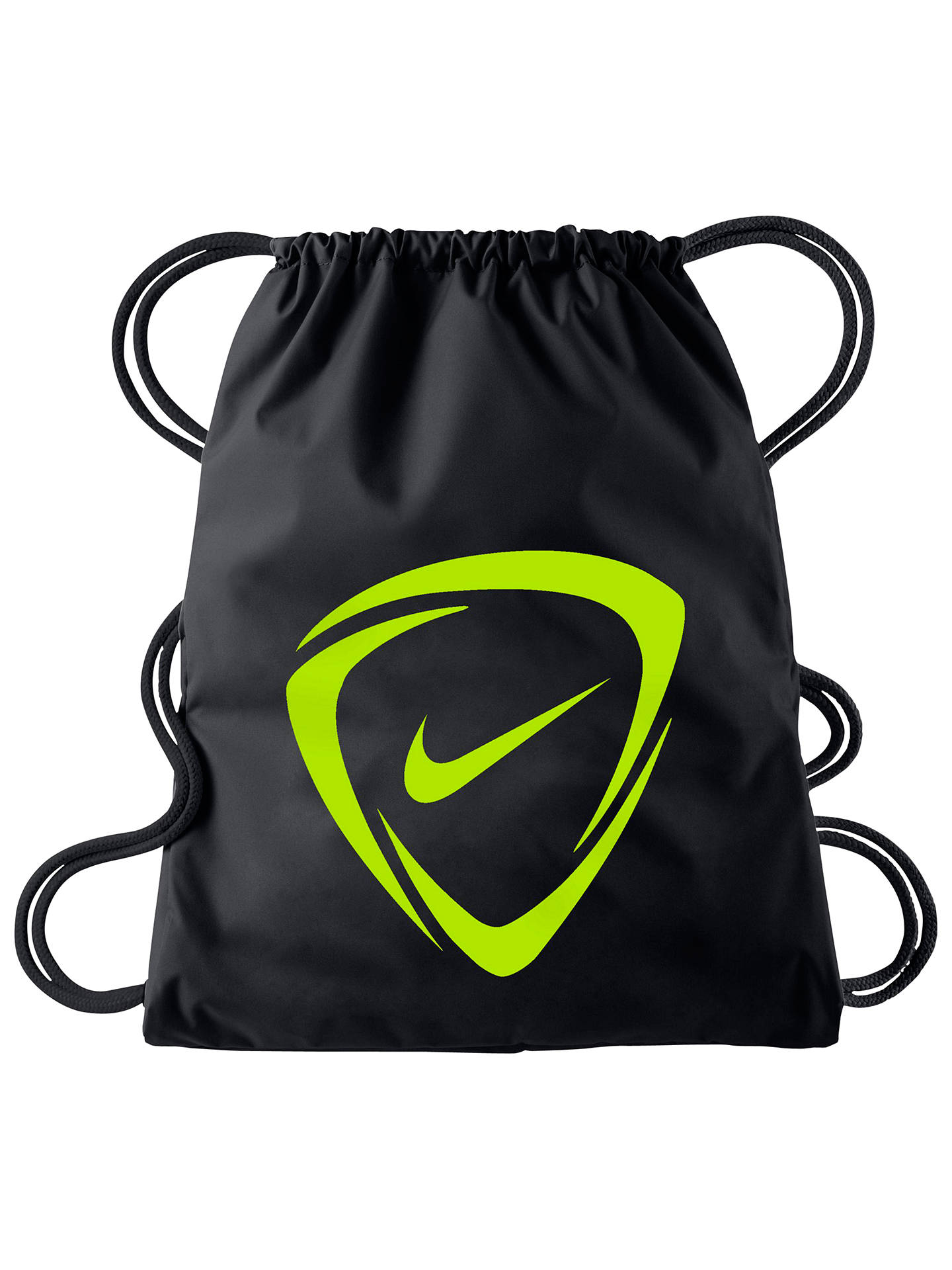 BuyNike Mercurial 2.0 Football Drawstring Bag, Black Online at  johnlewis.com ... 91ac6c01a3