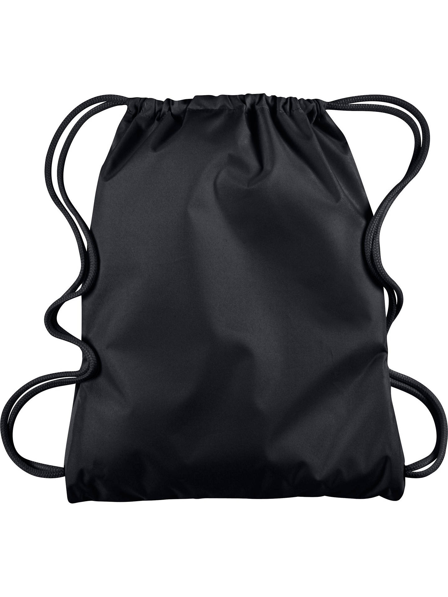 Nike Mercurial 2.0 Football Drawstring Bag, Black at John