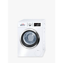 Buy Bosch WAT32480GB Freestanding Washing Machine, 9kg Load, A+++ Energy Rating, 1600rpm Spin, White Online at johnlewis.com