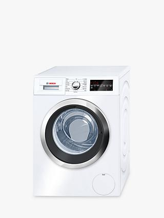 Bosch WAT32480GB Freestanding Washing Machine, 9kg Load, A+++ Energy Rating, 1600rpm Spin, White
