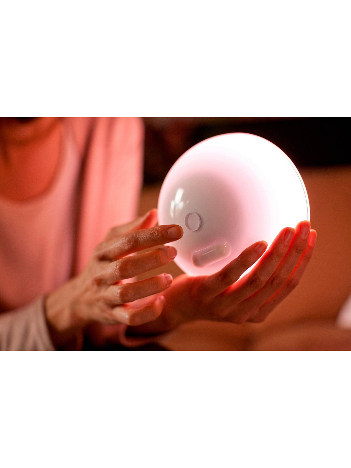 Buy Philips Hue Go Connected Portable Light, Multi Online at johnlewis.com