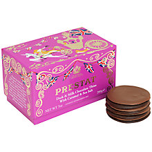 Buy Prestat Sea Salt Caramel Thins, 200g Online at johnlewis.com