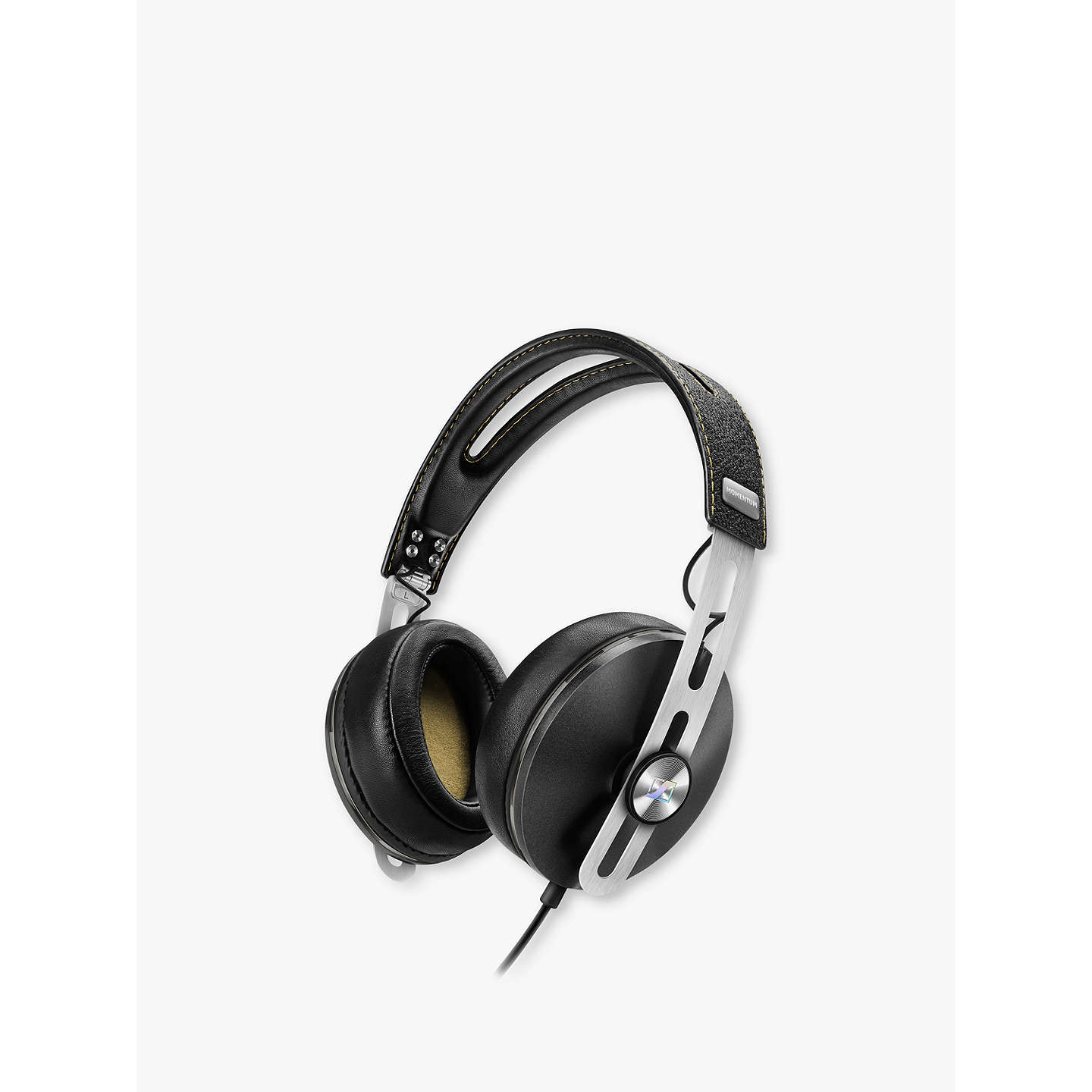 BuySennheiser Momentum 2.0i Full Size Headphones with Mic/remote for Apple Devices, Black Online at johnlewis.com