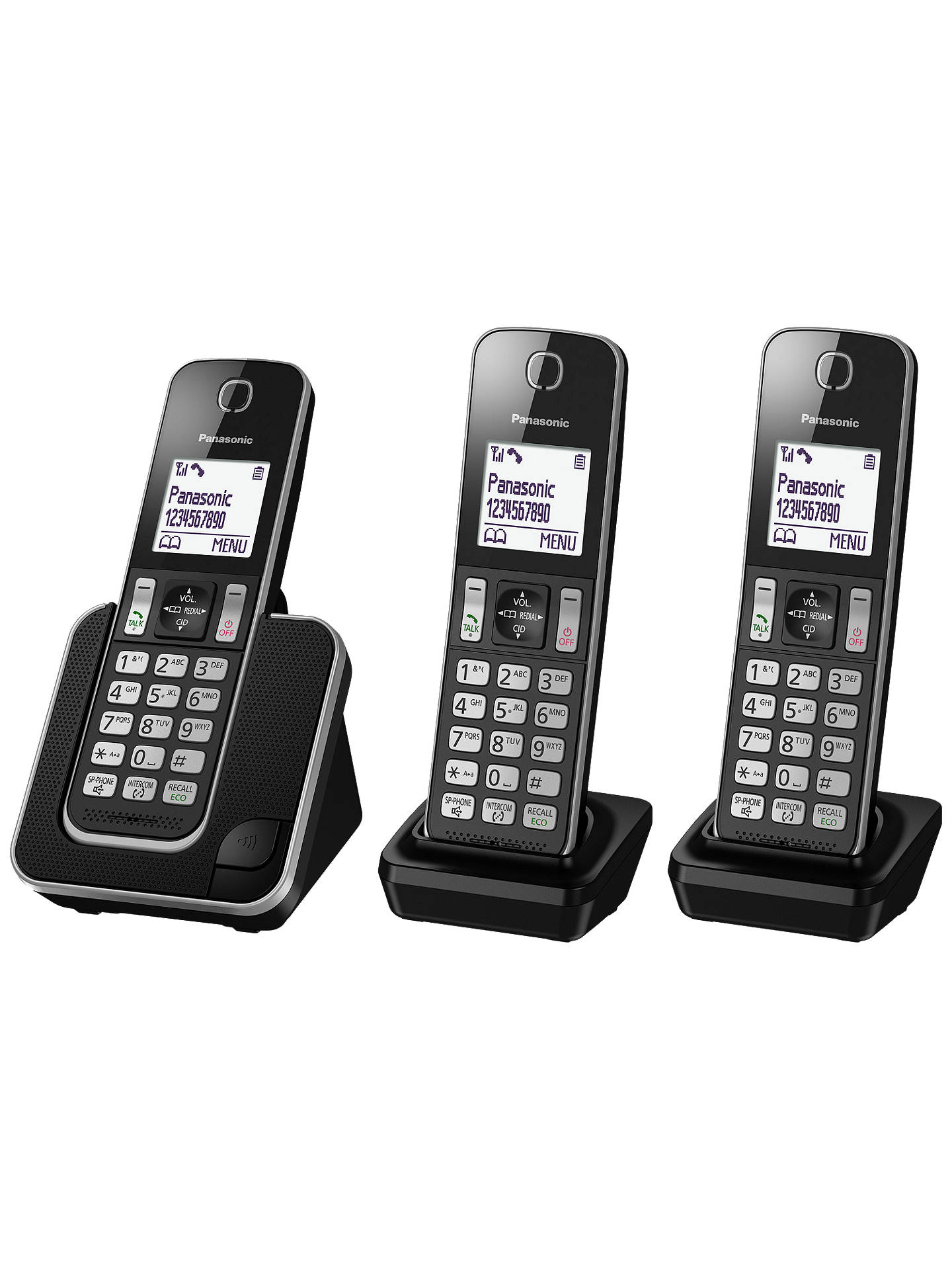 BuyPanasonic KX-TGD313ED Digital Cordless Phone with Nuisance Call Control, Trio DECT Online at johnlewis.com