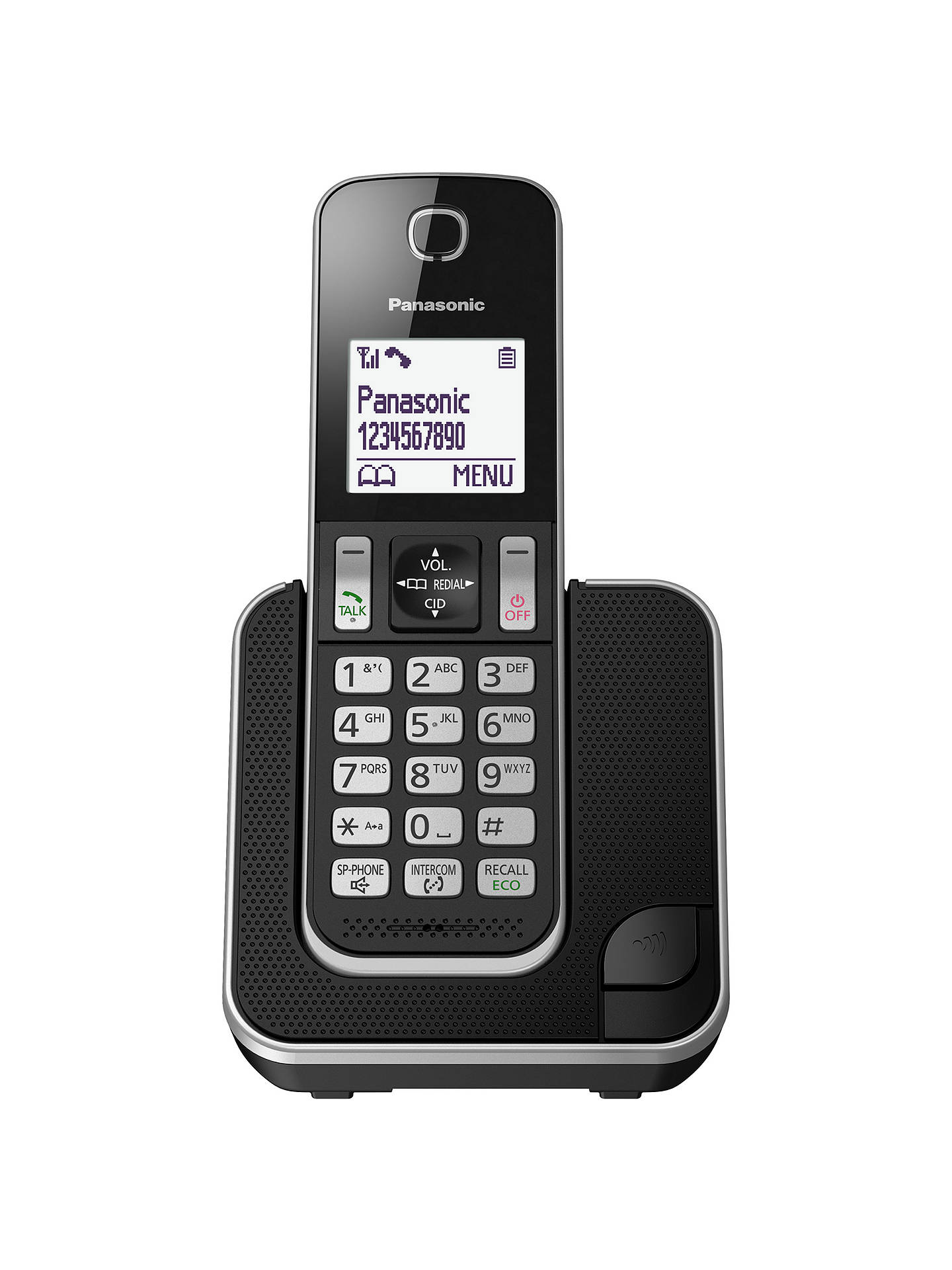 BuyPanasonic KX-TGD310EB Digital Cordless Phone with Nuisance Call Control, Single DECT Online at johnlewis.com
