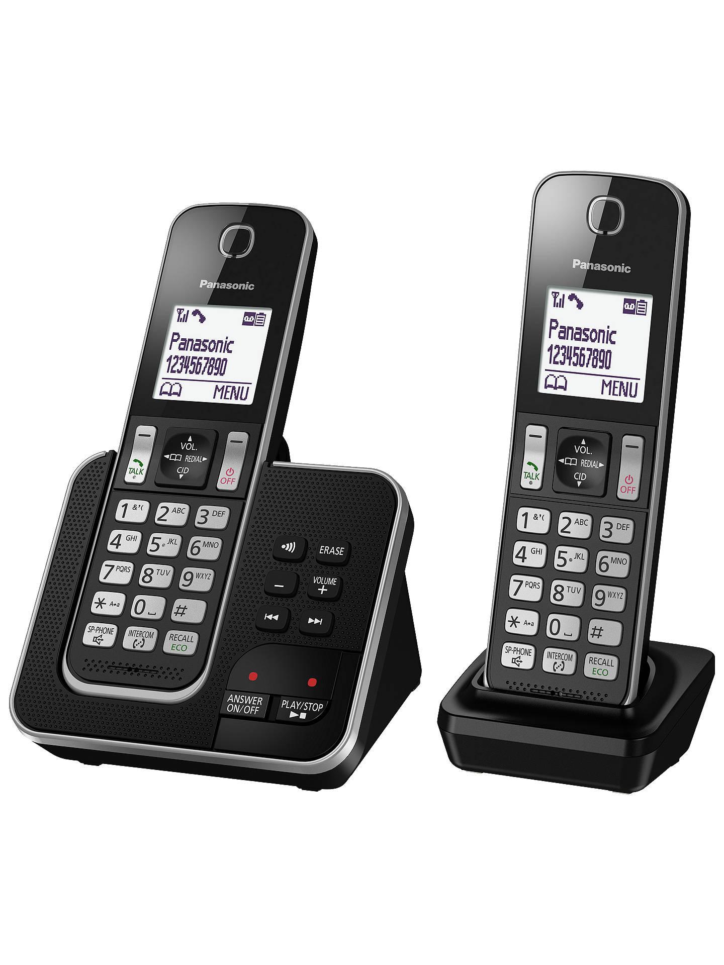 Panasonic Kx Tgd322eb Digital Cordless Phone With Nuisance Call