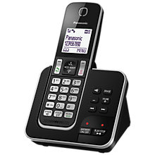 Buy Panasonic KX-TGD320EB Digital Cordless Phone with Nuisance Call Control and Answering Machine, Single DECT Online at johnlewis.com