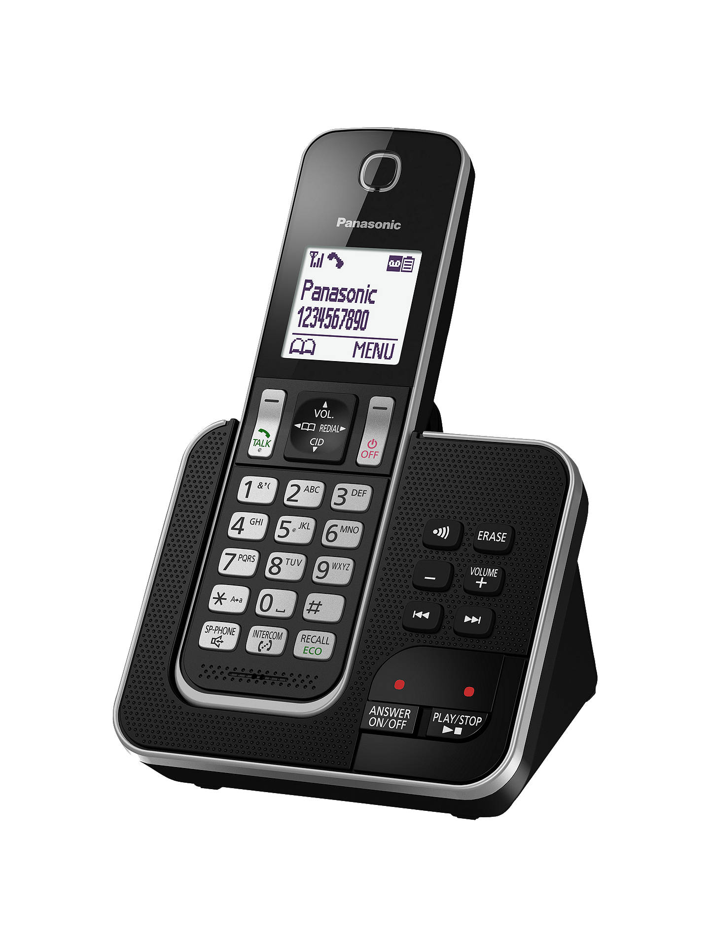 BuyPanasonic KX-TGD320EB Digital Cordless Phone with Nuisance Call Control  and Answering Machine 4d176e2f9d