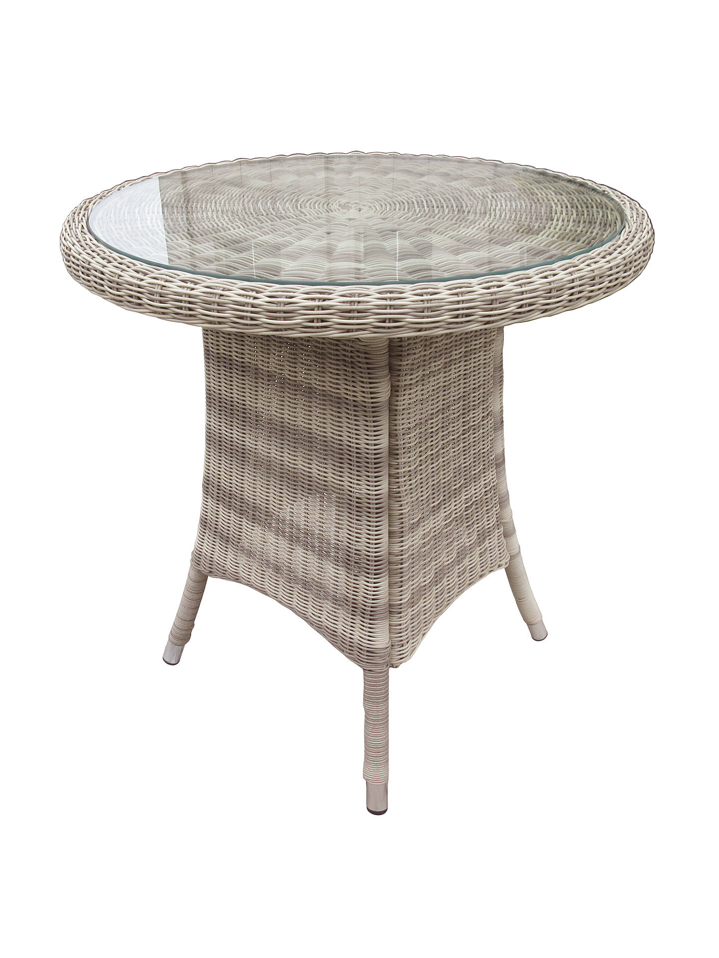 BuyJohn Lewis & Partners Dante Garden Bistro Table, Natural Online at johnlewis.com