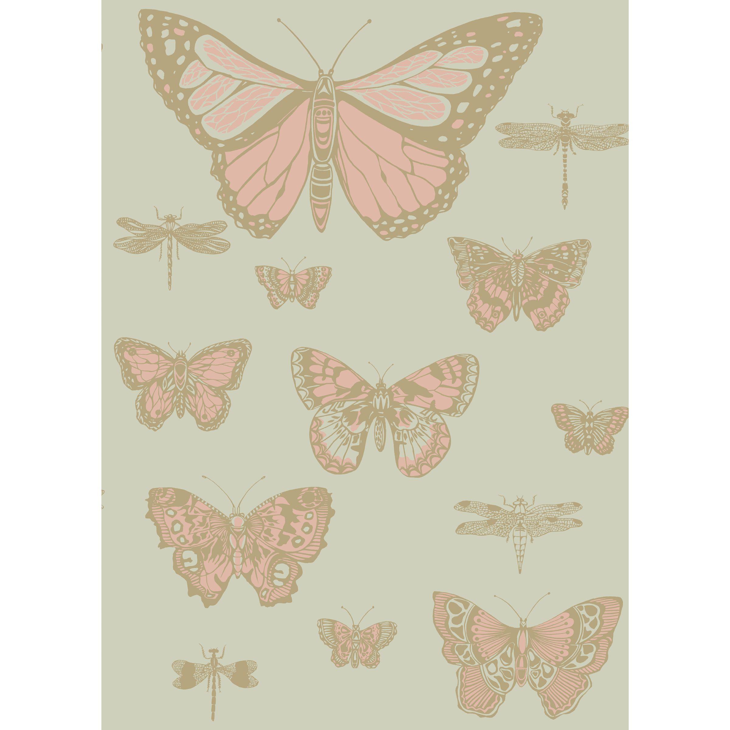 Cole & Son Cole & Son Butterflies & Dragonflies Wallpaper