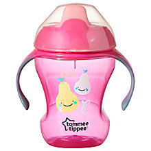 Buy Tommee Tippee Easy Drink Cup, 230ml, Pink Online at johnlewis.com