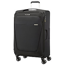 Buy Samsonite B-Lite 3 4-Wheel 78cm Large Spinner Suitcase, Black Online at johnlewis.com