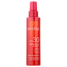Buy Decléor Aroma Sun Summer Oil SPF 30, 150ml Online at johnlewis.com