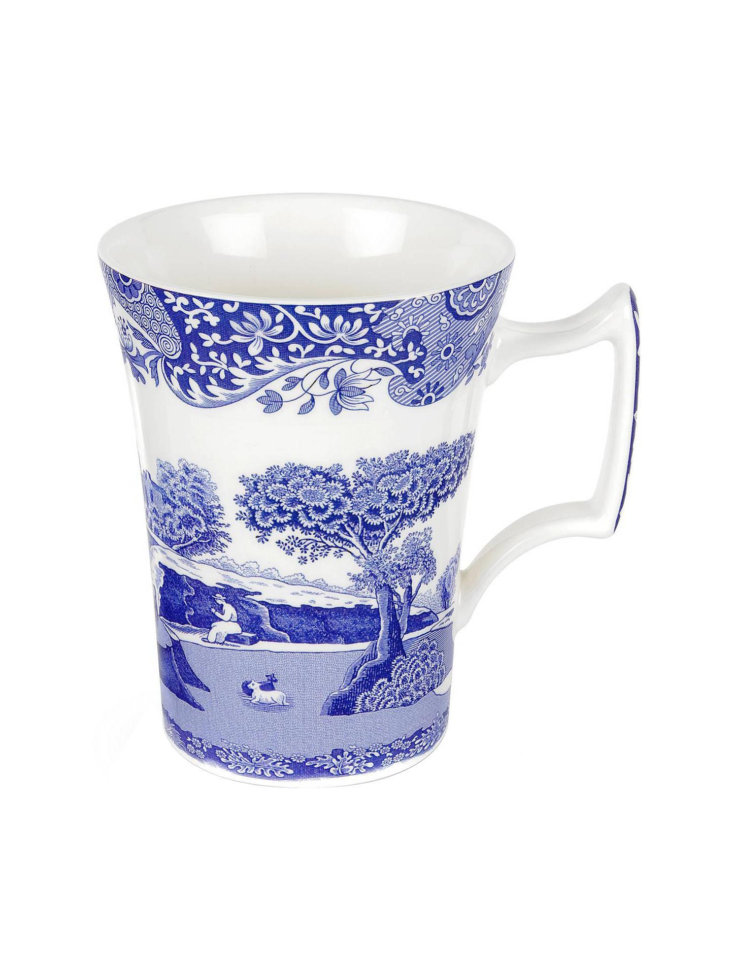 Spode Blue Italian Mug Online At Johnlewis