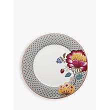 Buy PiP Studio Fantasy Plate, Blue, Dia.26.5cm Online at johnlewis.com