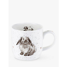 Buy Royal Worcester Wrendale Bunny Mug Online at johnlewis.com