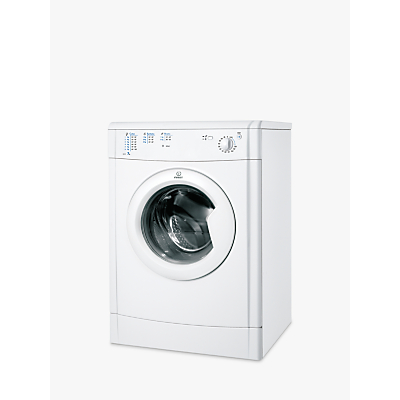 Image of Indesit IDV75 Ecotime Vented Tumble Dryer, 7kg Load, B Energy Rating, White