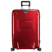 Buy Briggs & Riley Torq 4-Wheel 76.2cm Large Suitcase, Ruby Online at johnlewis.com