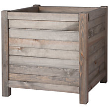 Buy Garden Trading Wooden Planter Online at johnlewis.com