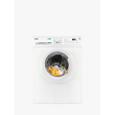 Zanussi ZWF81441W Freestanding Washing Machine, 8kg Load, A+++ Energy Rating, 1400rpm Spin, White Review thumbnail