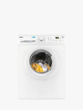 Zanussi ZWF81441W Freestanding Washing Machine, 8kg Load, A+++ Energy Rating, 1400rpm Spin, White