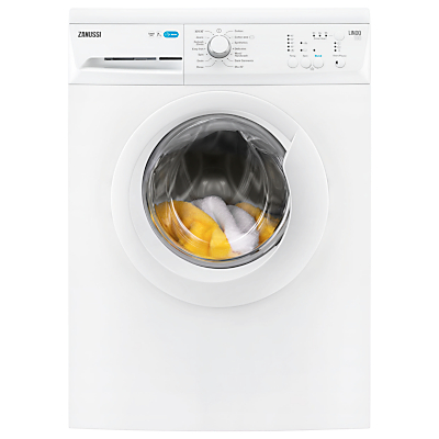 Zanussi ZWF71240W Freestanding Washing Machine, 7kg Load, A+++ Energy Rating, 1200rpm Spin, White