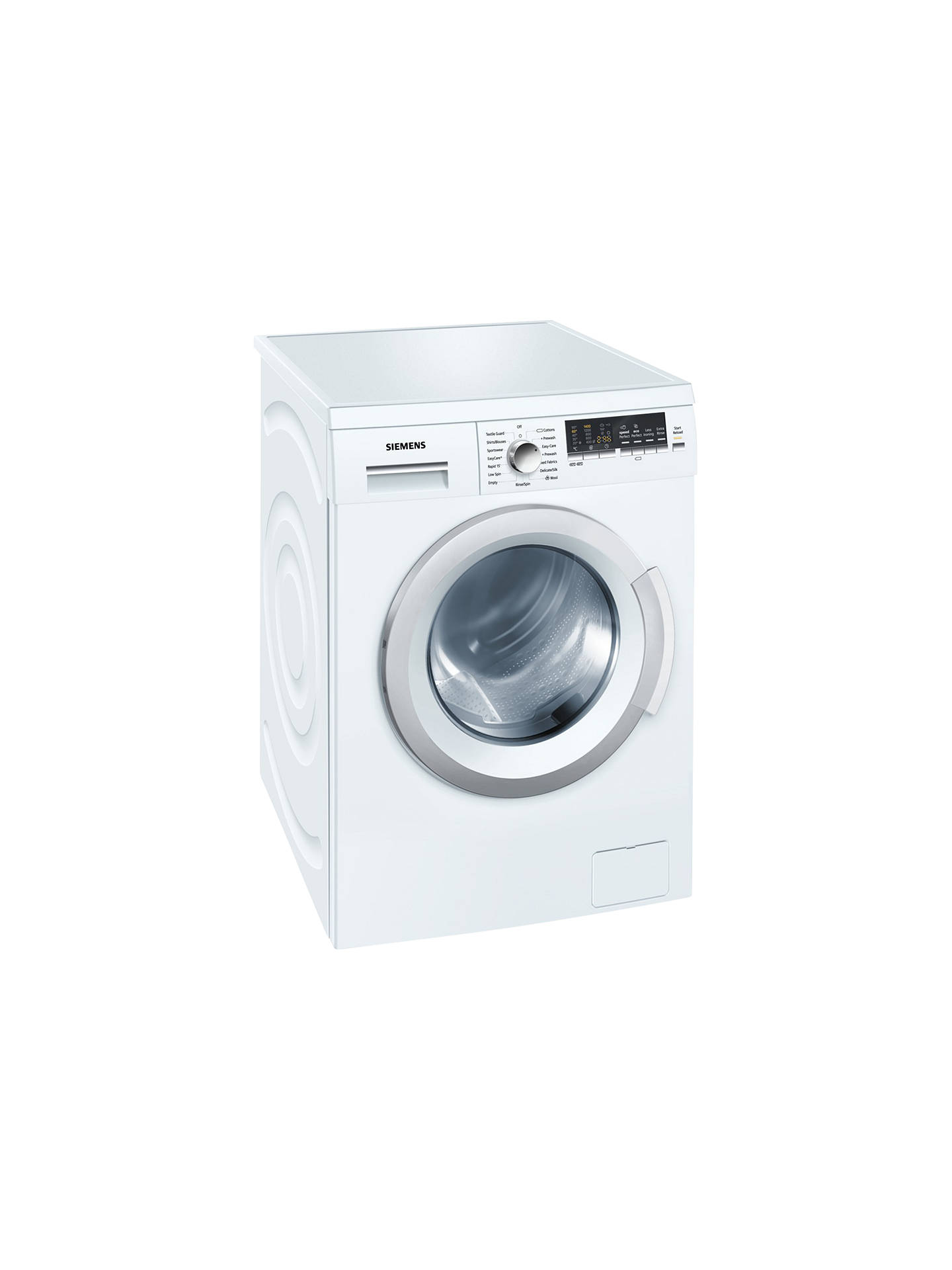 BuySiemens WM14Q478GB Freestanding Washing Machine, 8kg Load, A+++ Energy  Rating, 1400rpm Spin, ...