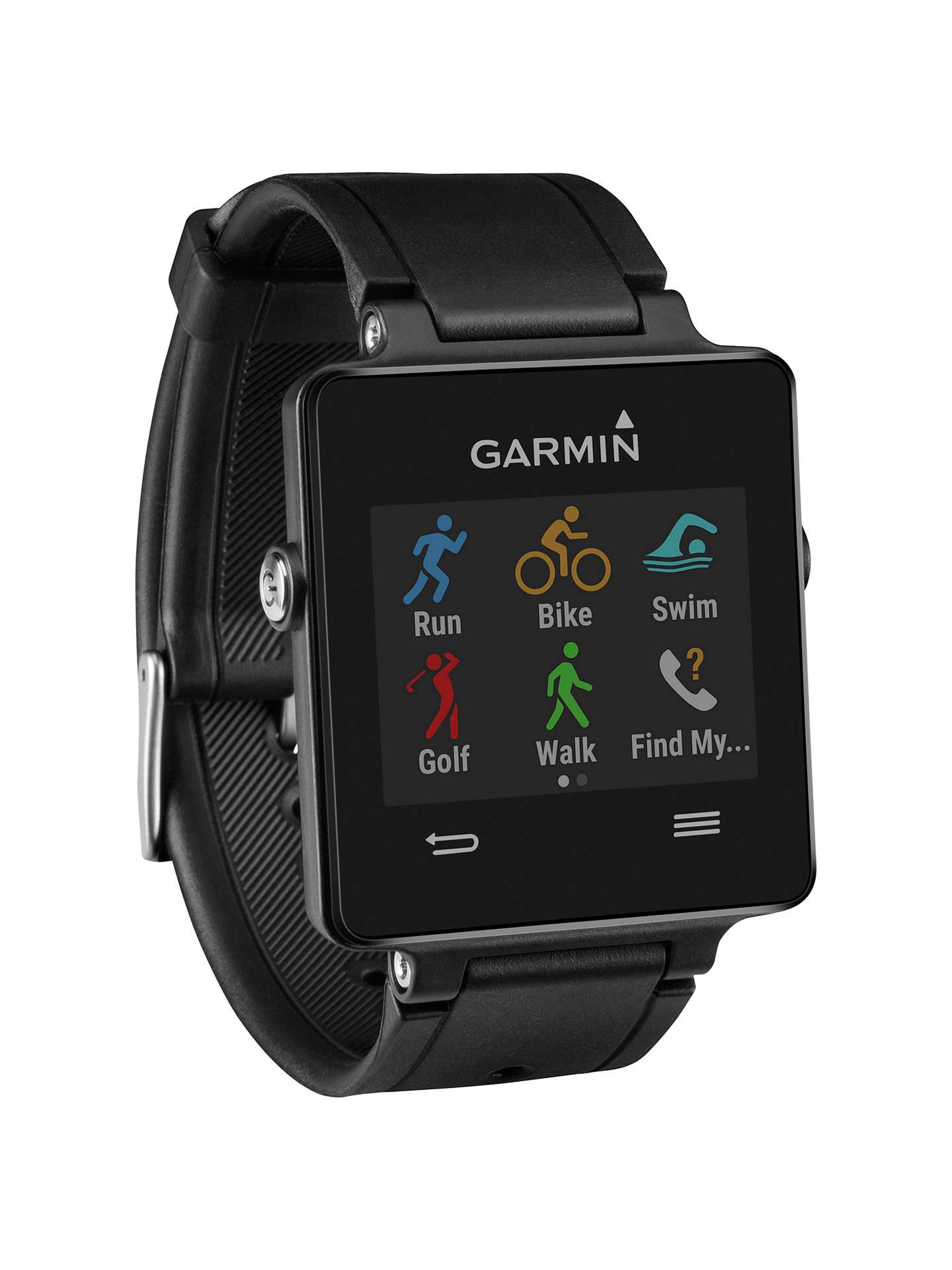 Garmin Vivoactive GPS Smartwatch and Heart Rate Monitor at