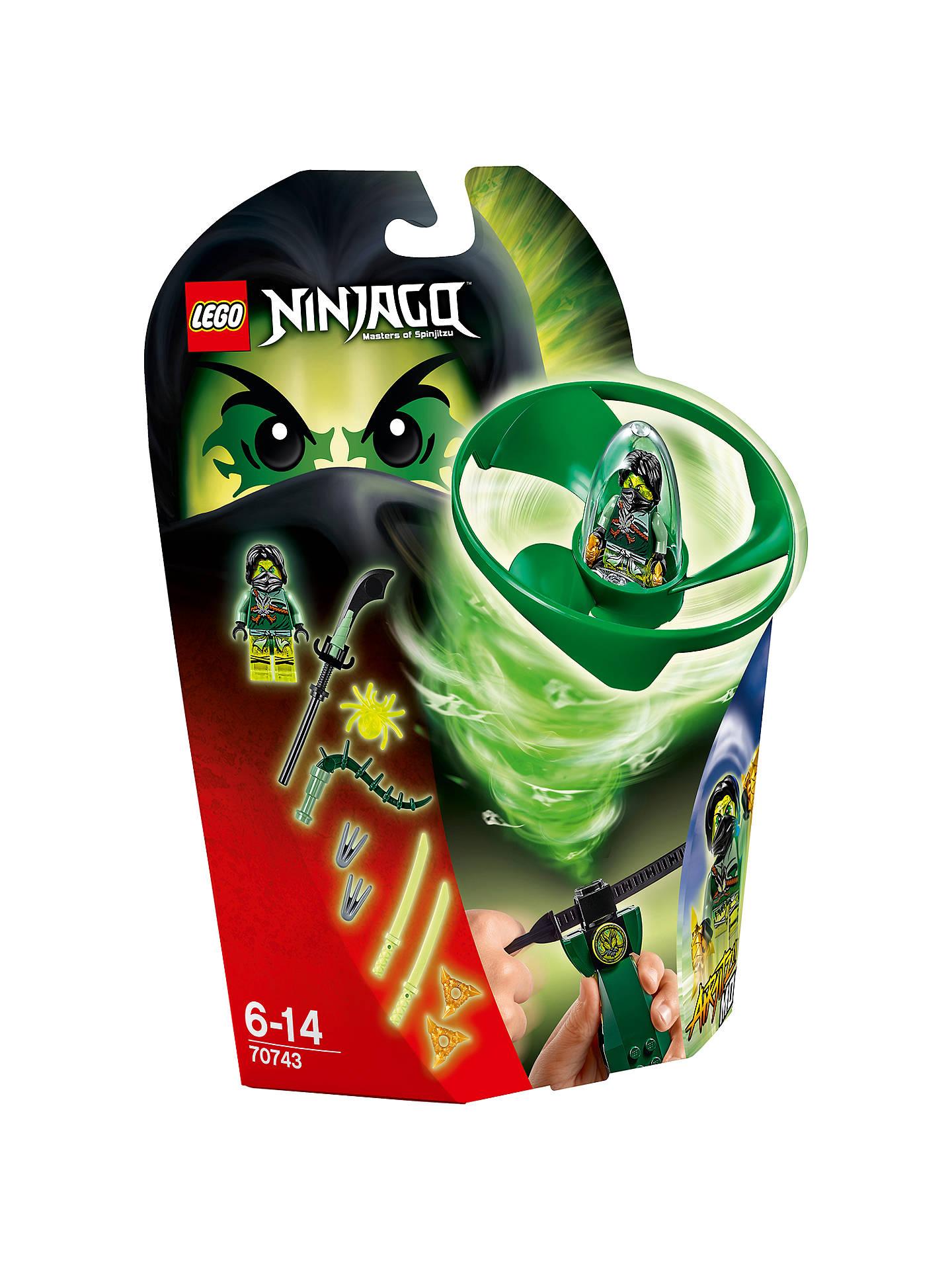 d43774eef09926 LEGO Ninjago 70743 Airjitzu Morro Flyer at John Lewis & Partners