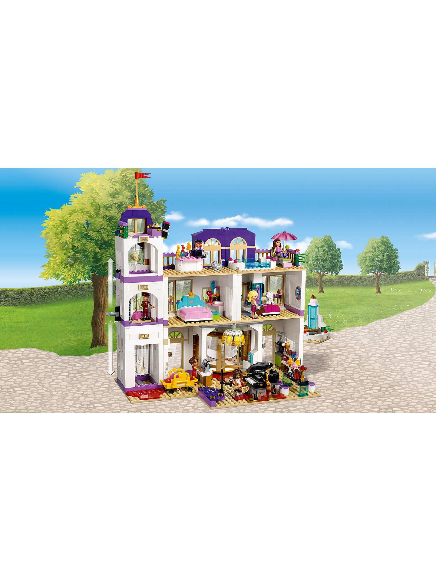 Lego Friends 41101 Heartlake Grand Hotel At John Lewis Partners