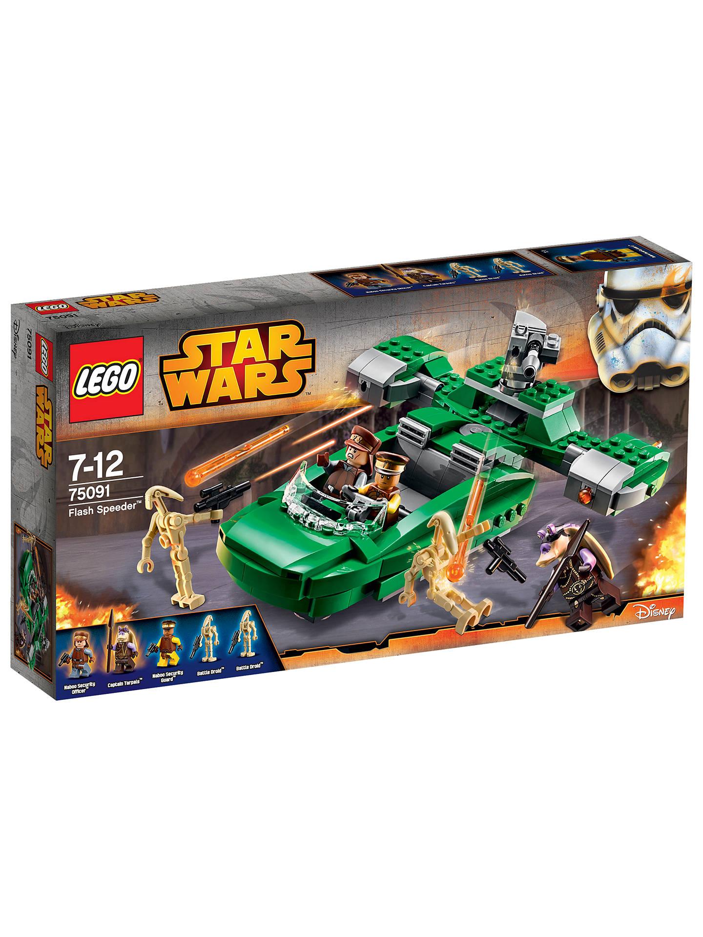 LEGO Star Wars 75091 Flash Speeder at John Lewis & Partners