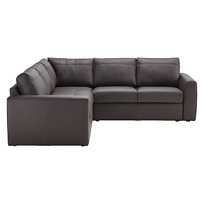 House by John Lewis Finlay II Leather Corner Sofa