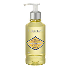 Buy L'Occitane Immortelle Oil Make Up Remover, 200ml Online at johnlewis.com