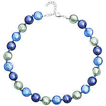Buy Martick Silver Plated Murano Glass Bon Bon Necklace Online at johnlewis.com