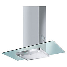 Buy Smeg KFV92DE 90cm Chimney Cooker Hood, Stainless Steel and Glass Online at johnlewis.com