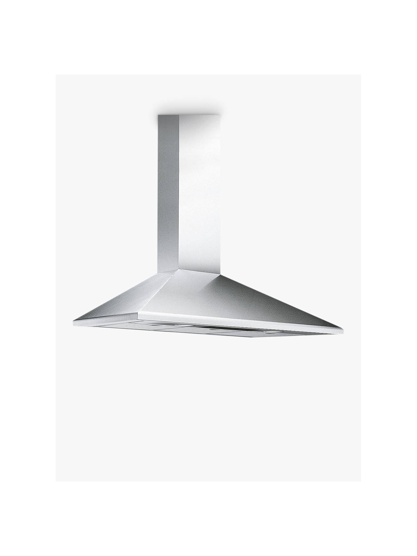 BuySmeg KSED95XE 90cm Chimney Cooker Hood, Stainless Steel Online at johnlewis.com